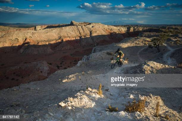 southwest adventure mountain biking man