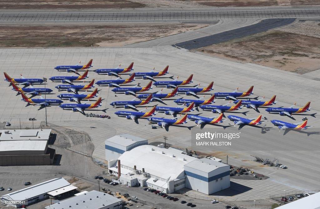 US-AVIATION-BOEING : News Photo