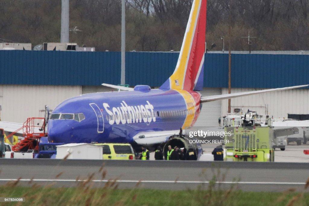 US-AVIATION-ACCIDENT : News Photo