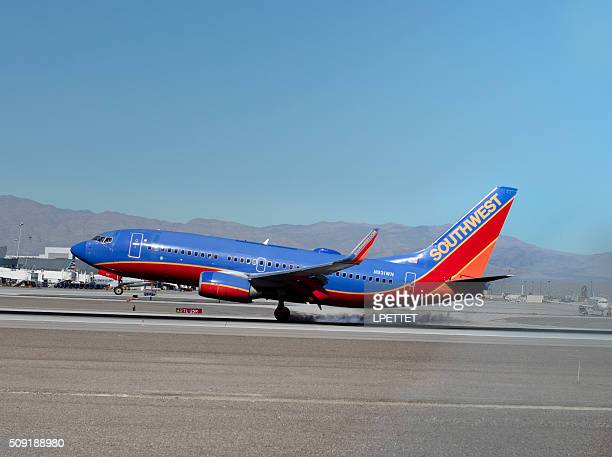 southwest airlines - southwest usa stock pictures, royalty-free photos & images