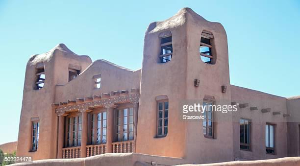 Southwest architecture - Santa Fe, New Mexico