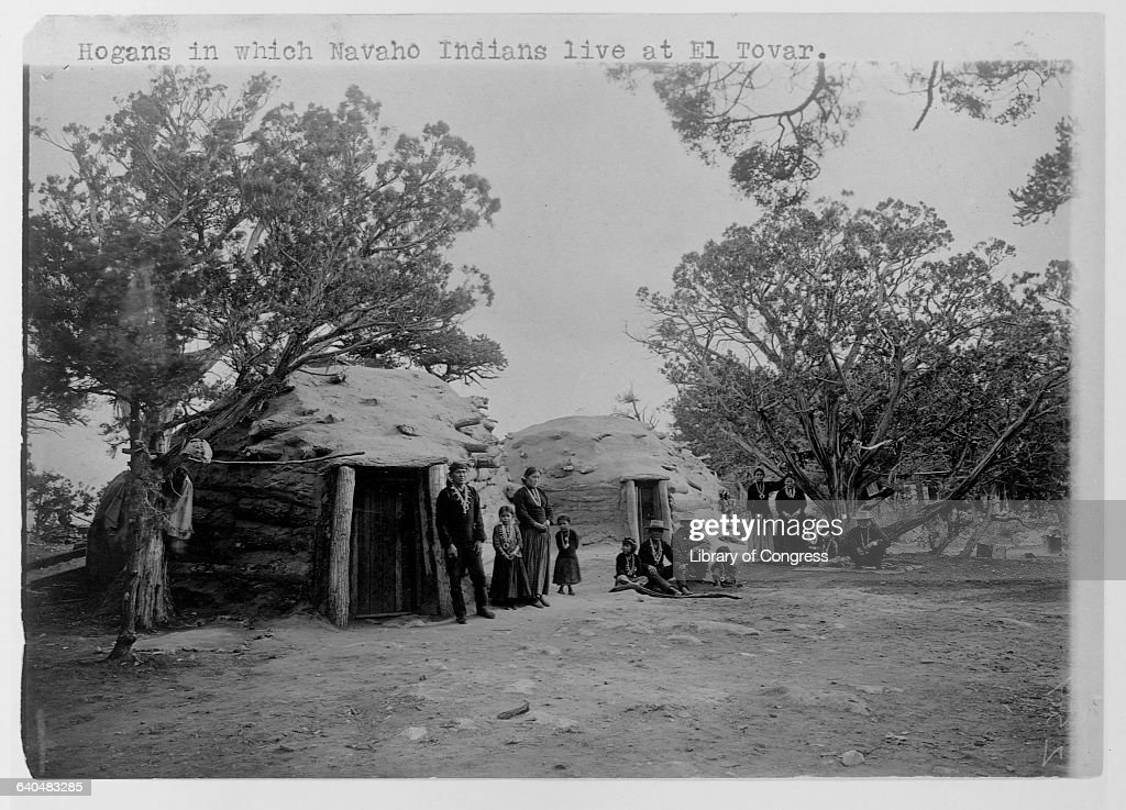 Southwest Indians Living in the Grand Canyon : News Photo