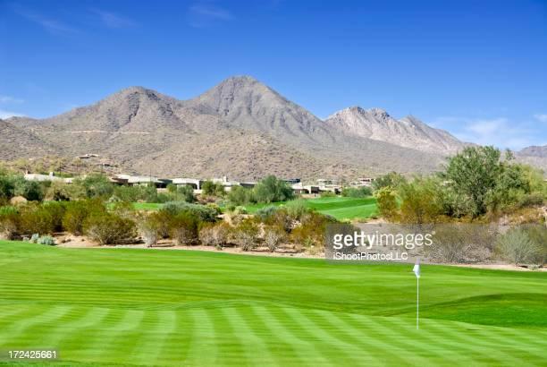 米国南西部のゴルフコミュニティ