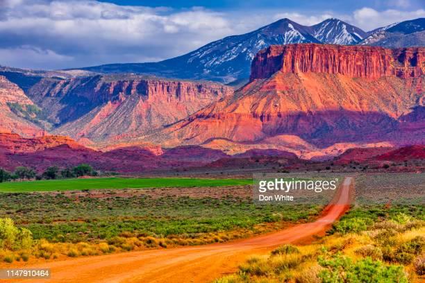 südwest-utah-landschaften - südwesten stock-fotos und bilder