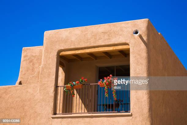 southwestern Arizona adobe residential architecture new house construction, unsold homes
