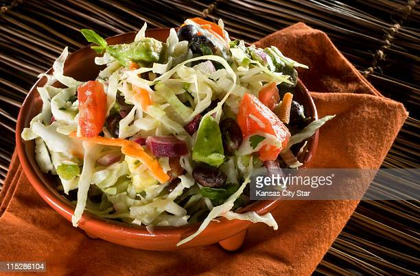 Southwestern coleslaw is a delicious and healthier version of the summer salad staple