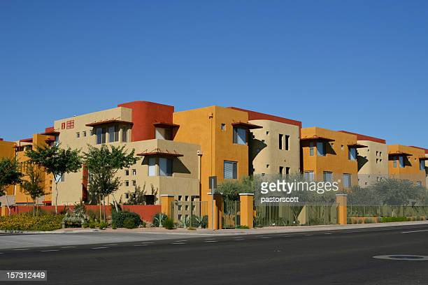 southwestern condos - phoenix arizona stock photos and pictures