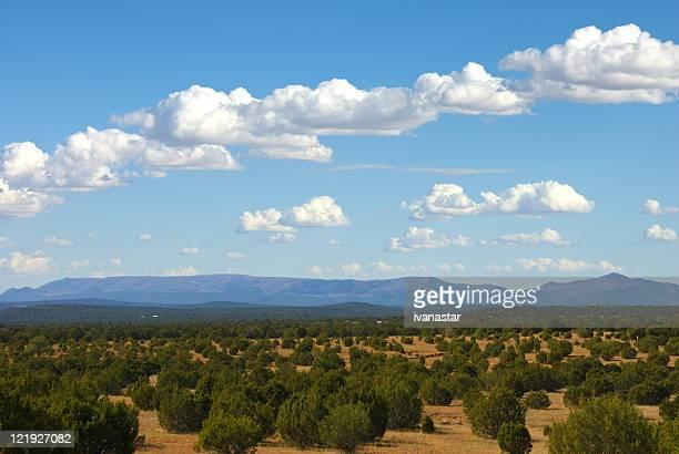 Südwestens mit Sandia-Berge