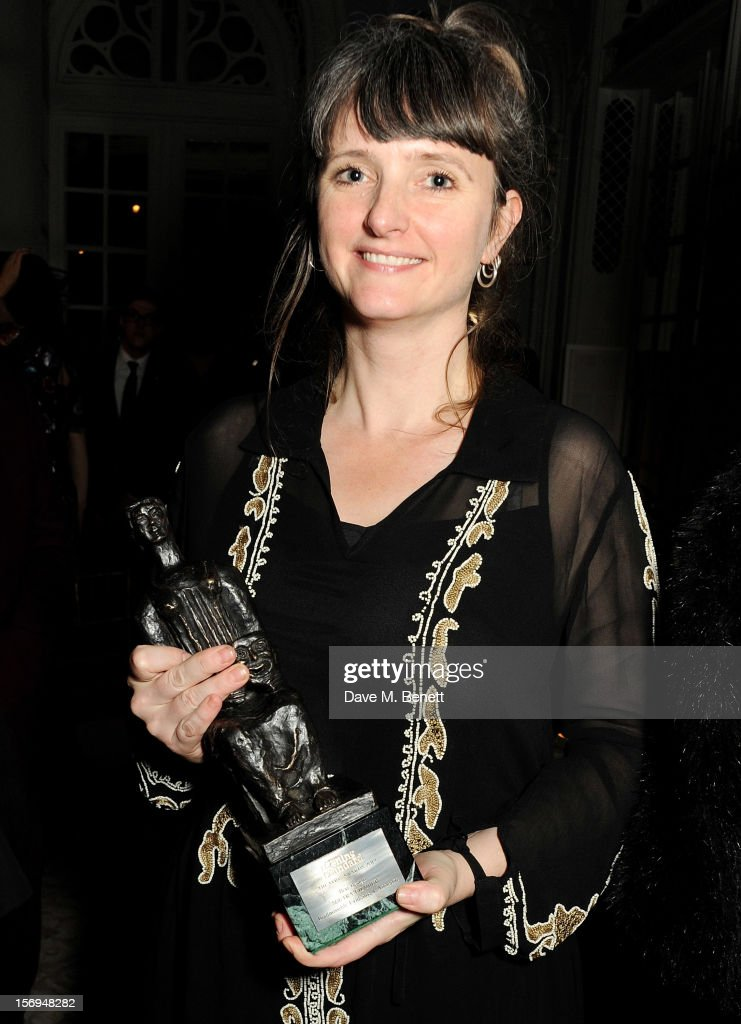 Soutra Gilmour attends an after party following the 58th London Evening Standard Theatre Awards in association with Burberry at The Savoy Hotel on November 25, 2012 in London, England.
