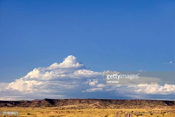 Soutwestern Mountain Trail und Wolken