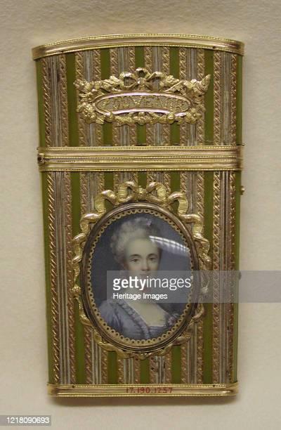 Souvenir, circa 1777?-89. Artist Nadine Vallin.