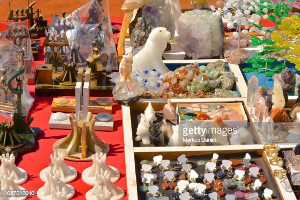 """souvenir gift shop items for the cathedral of brasilia - """"markus daniel"""" fotografías e imágenes de stock"""
