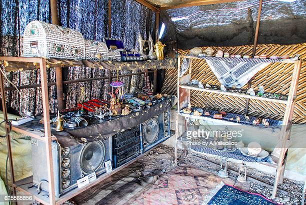 Souvenir shop in Amman