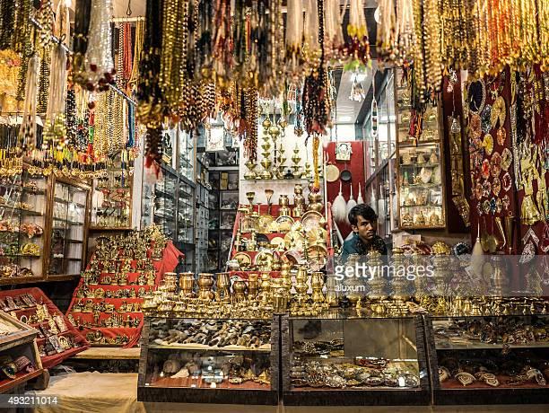 Souvenir shop in de Pushkar