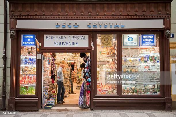 Souvenir Shop, Prague, Czech Republic