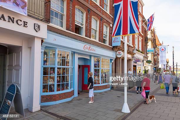 Souvenir shops in Windsor Town Centre