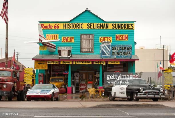 Souvenir store at Seligman, Arizona, USA