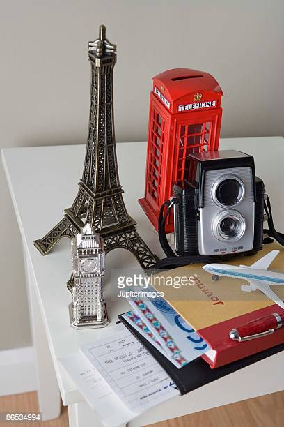 Souvenirs and camera