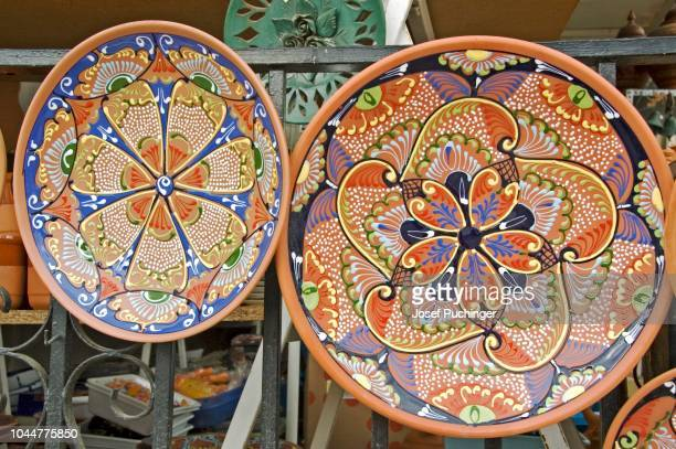 souvenirs, andalusia, guadix, spain - loam stock photos and pictures
