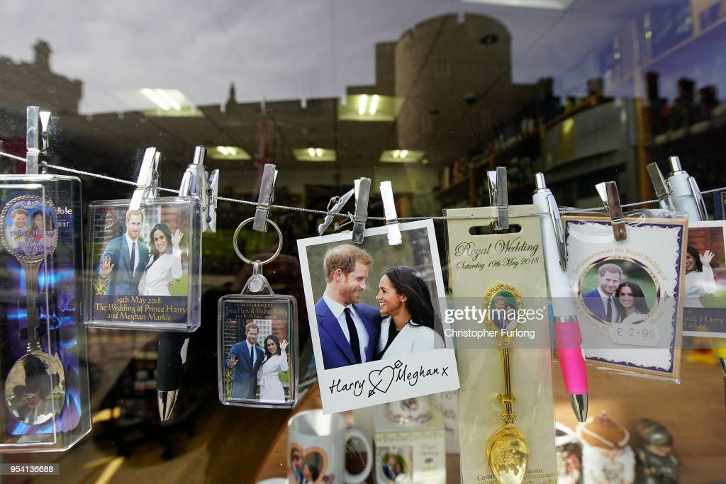 Preparations for Royal Wedding of Harry and Meghan : News Photo