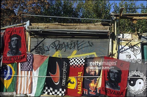 Souvenirs for sale in La Plaka Athens Greece