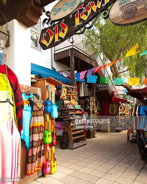 souvenirs for sale, old town, san diego - old town san diego stock pictures, royalty-free photos & images