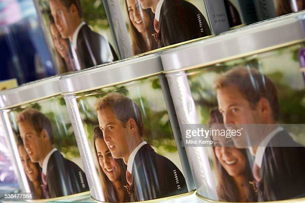 Souvenirs for the Royal Wedding of Prince William and Catherine Middleton. Also known as Kate Middleton, on marrying the heir to the throne on 29th...
