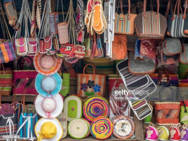 souvenirs from madagascar - ranomafana national park stock photos and pictures