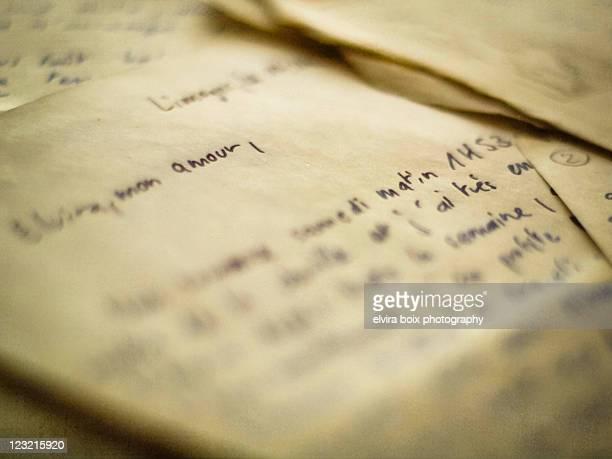Souvenirs lettre of amour memories