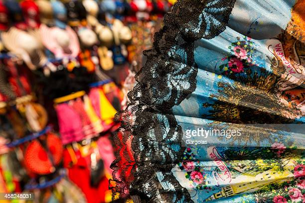 souvenirs of seville - flamenco stock photos and pictures