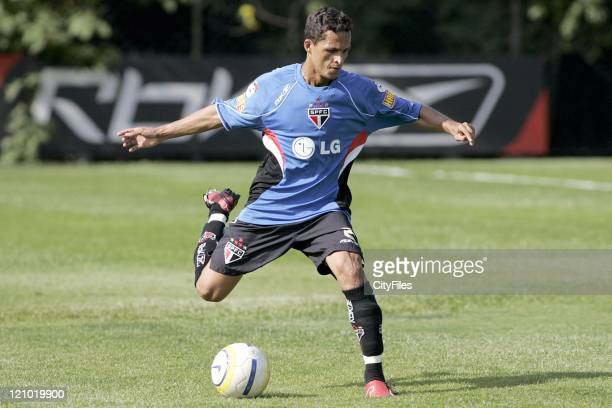 Souza of the new Brazilian champions FC Sao Paulo.