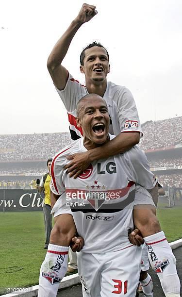 Souza of the new Brazilian champions FC Sao Paulo