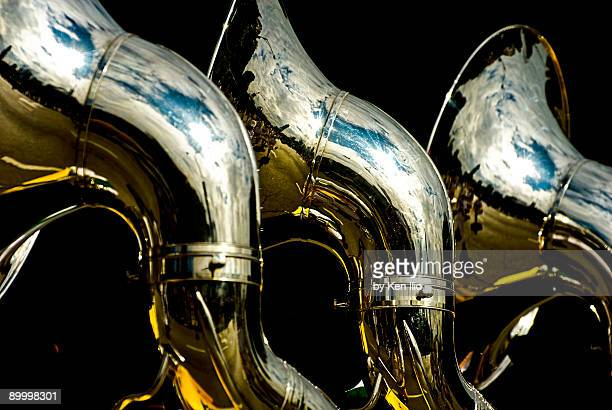 Souzaphones on parade