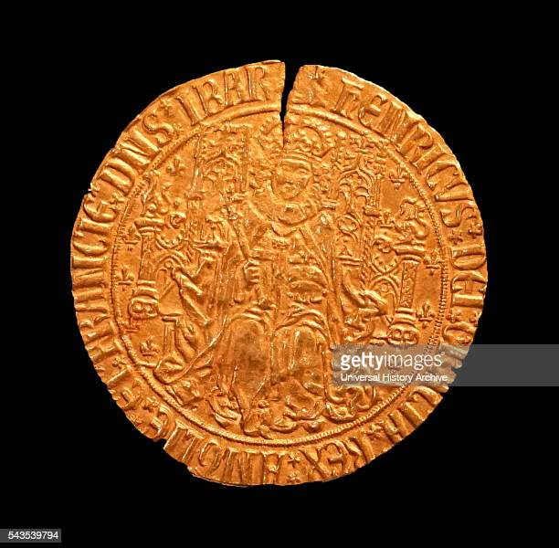 Sovereign coin of King Henry VII King of England Dated 15th Century