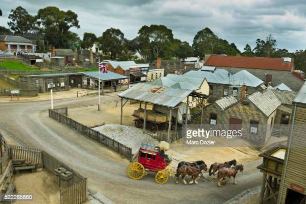 Sovereign Hill Gold mine museum