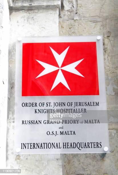 soberana orden de san juan de jerusalén, caballeros hospitalarios en malta - imperial system fotografías e imágenes de stock
