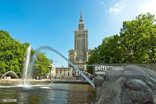 Sowietisches Architektur in Warschau, Polen