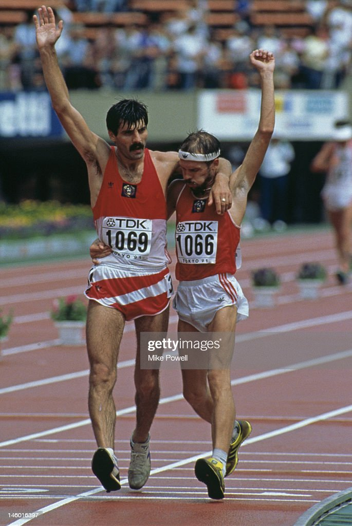 Potashov And Perlov : News Photo