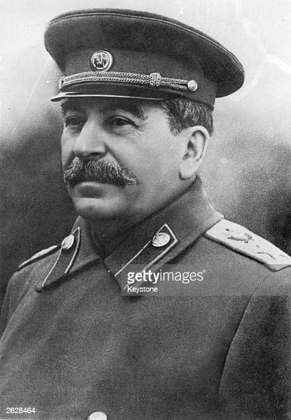 Soviet Communist leader Joseph Stalin