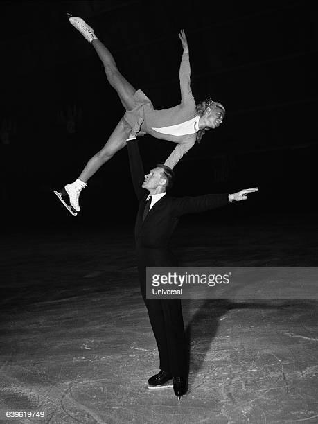 Soviet figure skaters Ludmila Belousova and Oleg Protopopov