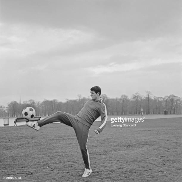 Soviet footballer Valery Voronin , UK, 6th December 1967.
