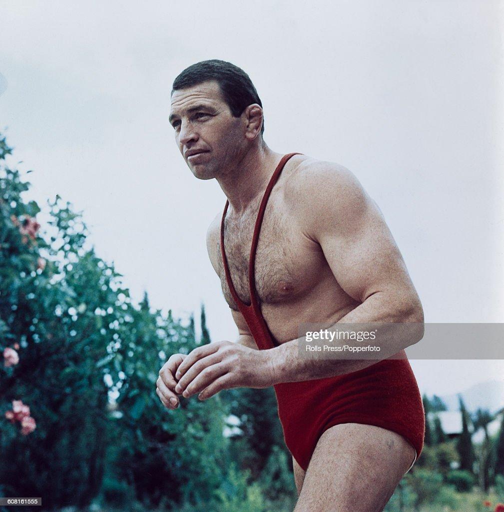 Soviet Wrestler Boris Mikhaylovich Gurevich : Nieuwsfoto's