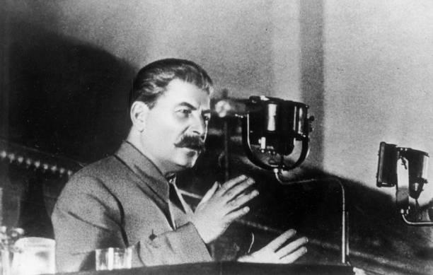 Stalin Speaks Wall Art