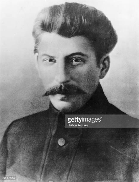 Soviet leader Joseph Stalin as a leading Bolshevik