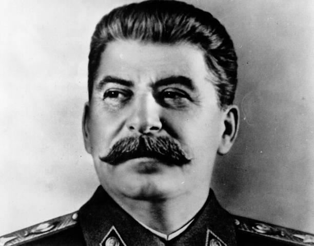 Portrait Of Stalin Wall Art