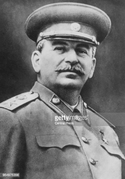 Soviet leader Joseph Vissarionovich Stalin circa 1949.