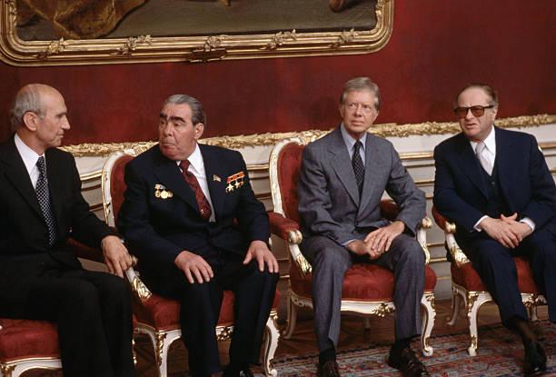 Brezhnev and carter at salt ii treaty conference pictures getty images brezhnev and carter at salt ii treaty conference platinumwayz