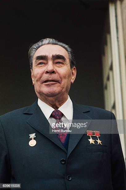 Soviet Leader Leonid Brezhnev