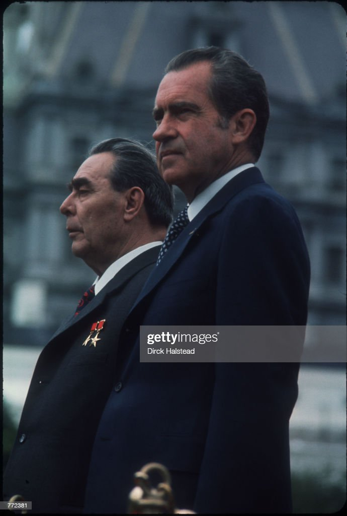 Soviet Leader Signs Agreement With US : News Photo