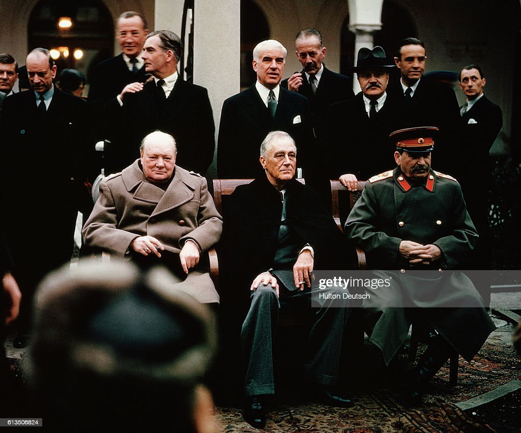 World Leaders At The Yalta Conference 1945 Pictures Getty Images